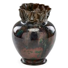 GEORGE OHR Exceptional large vase