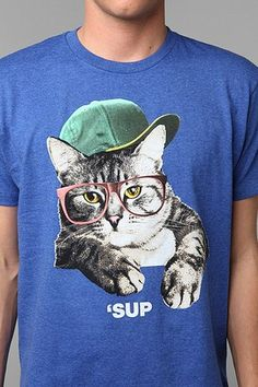 'Sup Cat Tee, THIS FOR M2, 1 CAT NEEDED INSULIN SHOTS, 1 CAT IS DEAF AND I AM SURE 1 CAT WILL NEED GLASSES SOON @Mindy Choate