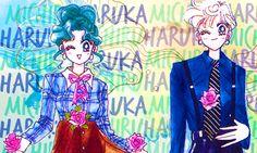 Sailor Moon sailormoonedit Usagi Tsukino Chibiusa Ami Mizuno Rei Hino Makoto Kino Minako Aino Haruka Tenoh Michiru Kaioh Setsuna Meioh Hotaru Tomoe mine