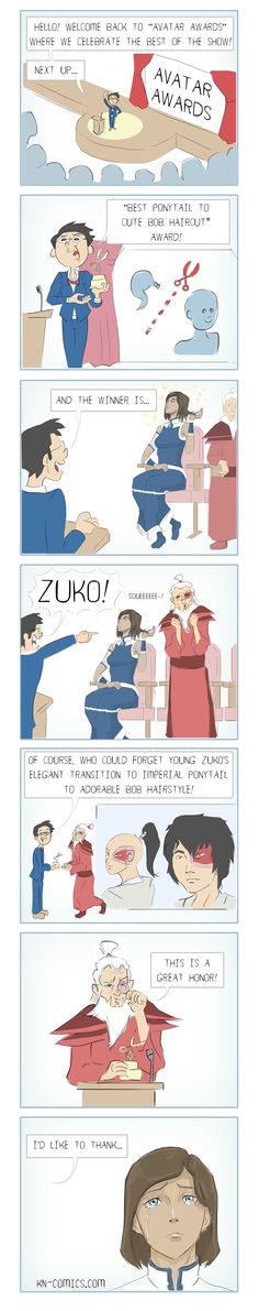 Yes!!! (ATLA) <-HAHA but that LOK season 3 finale reference at the end... *dying*