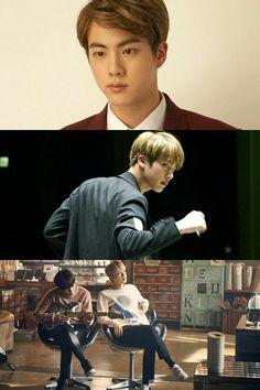 Jin ❤ BTS x SKT Unreleased Photos #BTS #방탄소년단