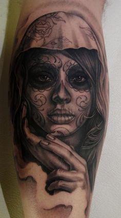 tattoo by Eric Marcinizyn. effing sick. i wish this was mine