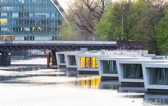 Houseboat rental in Hamburg