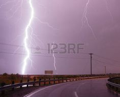 This storm is getting a little too close for comfort yet I don t care Stock Photo