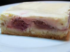 Rhubarb Cream Cheese Bars