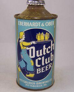 Dutch Club Beer, USBC 160-05, Grade 1/1+ – Beer Cans Plus