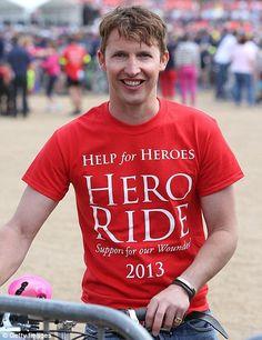 James Blunt @helpforheroes #HeroRide 2013