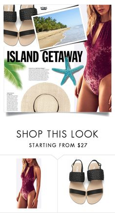 """""""Yoins: Island Getaway"""" by yoinscollection ❤ liked on Polyvore featuring Anja"""