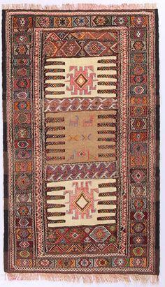 Perser KILIM  Teppich 161 x 94 KELIM Moderna alfombra oriental  orientteppich