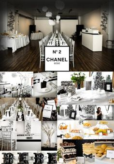 Chanel themed party- Paris Baby