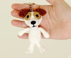 Amigurumi Jack Russell Pattern : Crochet pattern buddy the jack russell terrier hat crochet pattern