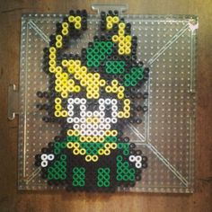 Loki Hello Kitty perler beads by angielee_photography