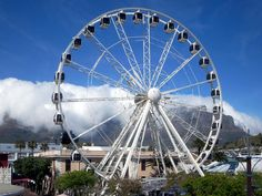 The Cape Wheel is a 40-meter observation wheel featuring 30 air-conditioned, enclosed cabins with sweeping views of Cape Town from the vibrant V&A Waterfront precinct. : David Stanley on Flickr