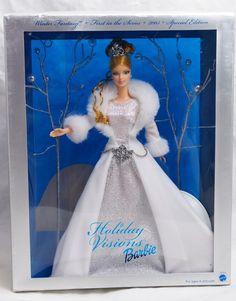 Winter Fantasy barbie 2003