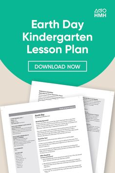 Use these Earth Day lesson plans for kindergarteners and elementary school students to teach them about sustainable practices in their daily lives. Science Resources, Learning Resources, Teacher Resources, The Learning Company, Kindergarten Lesson Plans, Sustainable Practices, High School Students, Earth Day, Problem Solving