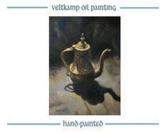 no shipping costs  still life oil by VeltkampOilPainting on Etsy