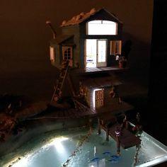 Fairy House Crafts, Fairy Houses, Night Light, Light Up, Dock Lighting, Cool Fish Tanks, Driftwood Furniture, Door Steps, Ocean Scenes