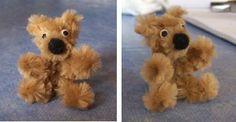 teddy (pipe cleaner) [Ours en peluche n°2] by Miniatur' Site