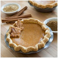 Adorable mini #pumpkinpies! The best pumpkin pie is the kind you don't have to share! Enjoy this fall favorite in your own personal serving! #PumpkinEverything