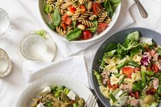 Find images and videos about food and salad on We Heart It - the app to get lost in what you love. Cobb Salad, It, Prosciutto, Chicken, Ricotta, Healthy, Lunch, Food, Eat Lunch