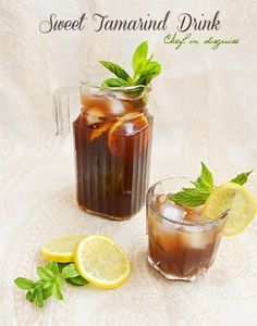 sweet tamarind drink
