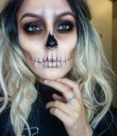 skeleton makeup 3