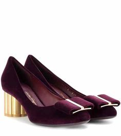 Velvet pumps | Salvatore Ferragamo