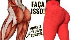 COMO AUMENTAR DE 5 A 12 CM DE BUMBUM EM CASA! Exercicios Para Aumentar Pernas e Gluteos Rapidinho!