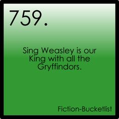 fictional bucket list :)) YES!!! I actually will... tommorow (except i will be singing with my friend)