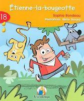 Étienne-la-bougeotte, aux éditions ERPI