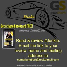 Rainy Days and Pajamas: Blog Tour & Giveaway: #Junkie by Cambria Hebert
