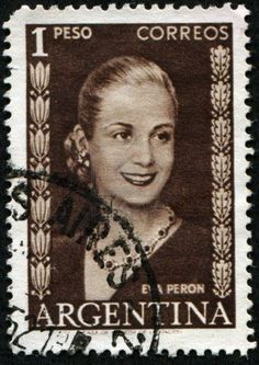 Picture of ARGENTINA - CIRCA A stamp printed in Argentina shows Eva Peron, circa 1948 stock photo, images and stock photography. Organization Of American States, Stamp Printing, South America Travel, Stamp Collecting, Postage Stamps, Fine Art Prints, Stock Photos, History, Artwork