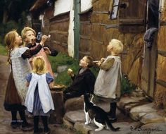 Hans Andersen Brendekilde (1857 - 1942, Danish)