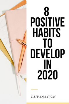 8 positive habits that will change your life in 2020 // If you want to change your life for the better, think about implementing some new positive habits. Here I share some of my favorite positive habits that changed my life in the past few years. Self Development, Personal Development, Leadership Development, Entrepreneur, Habits Of Successful People, Good Habits, Healthy Habits, Self Improvement Tips, Stress Management