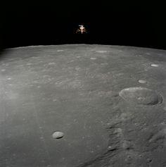 Nov. 19 1969 Apollo 12 Lunar Module Intrepid