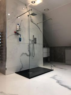 Check out this bathroom install using Jenflow products‼️ Want a free quote? Contact us now on: 📞 01922 401 893 📧 kadi@jenflow.co.uk #THINKJENFLOW #jenflowsystemsltd #resin #flooring #resinflooring #epoxy #resinepoxy #epoxyresin #design #homedecor #interiordesign #furniture #artist #resinartist #resinartwork #diy #decorativepainting #decorativepaint #home #luxury #decorative #interior #bathroom #whitematble Epoxy Resin Flooring, Epoxy Countertop, Epoxy Floor, Bathroom Flooring, Bathroom Wall, Bathroom Interior, White Marble Bathrooms, Toilet Design, Marble Effect