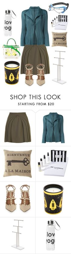 """""""Passion for Fashion"""" by gadinarmada-1 ❤ liked on Polyvore featuring Brandon Maxwell, Pleats Please by Issey Miyake, The Laundress, House of Harlow 1960, Dolce&Gabbana, Peace Love World and Under Armour"""