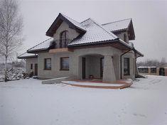 Projekt domu Ariadna II 135,9 m2 - koszt budowy - EXTRADOM Home Fashion, Cabin, House Styles, Home Decor, Decoration Home, Room Decor, Cabins, Cottage, Home Interior Design