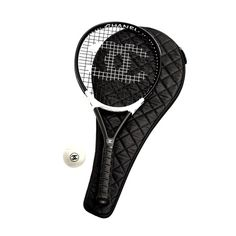 Chanel Tennis Racket....now that's what I call playing in style!