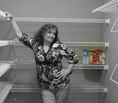 The Organizing of a Walk-In Pantry @ goodbye, house. Hello, Home! Homemaking, Interior Design Blog, Staging, DIY