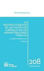 Roqueta Buj, Remedios. La reestructuración de las plantillas laborales en las administraciones públicas. 2ª ed. Tirant lo blanch, 2013.