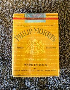 RARE Vintage 1955 Phillip Morris Limited Special Blend Cigarettes - Unopened