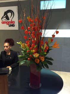 1000 Images About Reception Displays On Pinterest Reception Desks Corporate Flowers And
