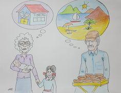 Disk Emekli-sen çalıştayı afiş çizimi