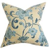 Found it at Wayfair - The Pillow Collection Duscha Floral Pillow