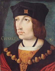 Charles VIII, the Affable (1470 - 1498). King of France from 1483 to 1498. He married Anne of Brittany and had a son who died young. He invaded Italy and took the crown of Naples.