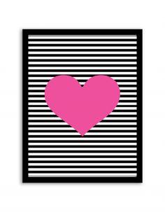 Free Printable Wall Art from Chicfetti.com #freeprintable