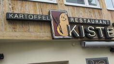 Trier, Germany - Potato Restaurant, yummy lots of options great English menu