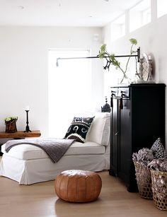 black, white, neutral, and green.  Helt Enkelt: Lampan och fortsättning...