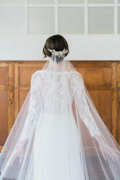 JASMINE Floral Wedding Hair Comb by percyhandmade on Etsy